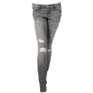 """Current Elliott skinny """"destroyed"""" jeans."""